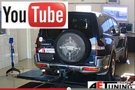 Mitsubishi Pajero Teljesítménymérés