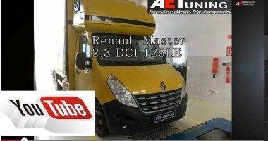Renault Master 2.3dci Opel Movano 2.3DCI Fogyasztás csökkentés