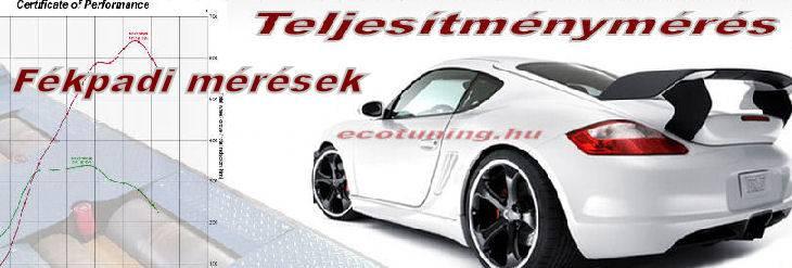 Teljesítménymérés - Autó Eco Tuning Kft Tát