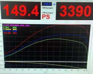 BMW E46 Sufni Chiptuning adat