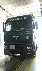 MAN TGA kamion fogyasztás csökkentés