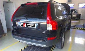 Volvo XC90 D5 185LE Chiptuning Teljesítmény mérés