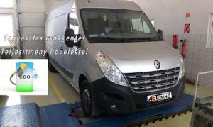 Renault Master 2.3 DCI 150LE Chiptuning