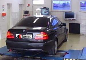 BMW 320D 150LE Chiptuning optimalizálás fékpadon