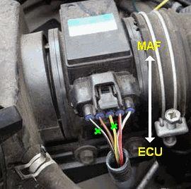 Légtömegmérőre kötött tuningbox