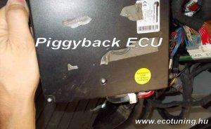 Piggyback Tuningbox (ECU) működése és tesztelése