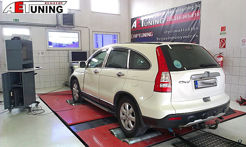 Honda CRV gyári chiptuning