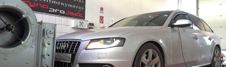 Audi A4 2.7TDI Multitronic 190LE AET CHIP tuning referencia DYNO teljesítménymérés
