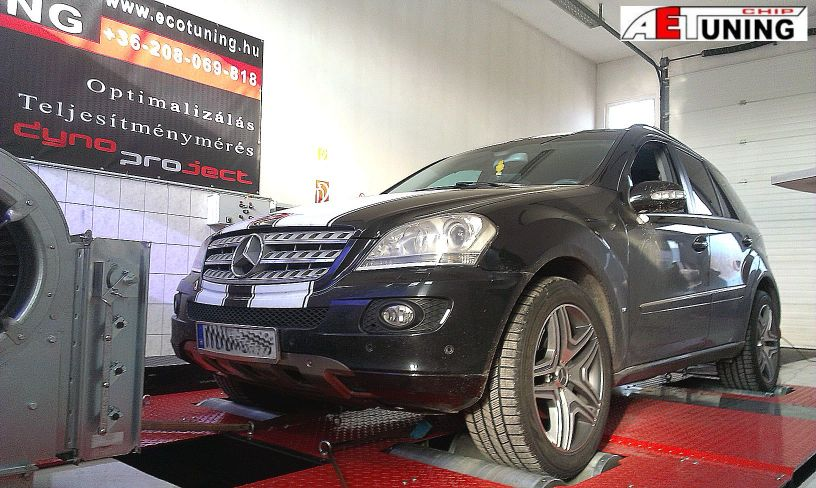 Mercedes_ML_chiptuning_dyno