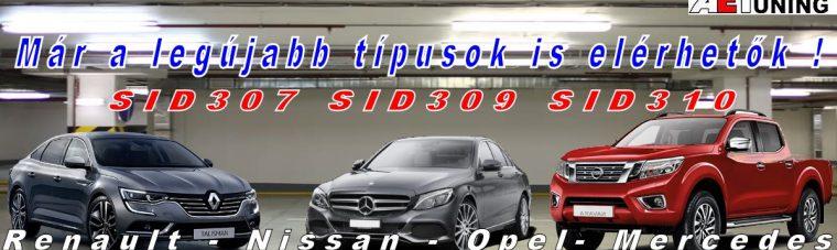 SID307 SID309 SID310 Chip tuning