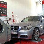 BMW 330xD 245LE OPTimalizálás 4x4 DYNO fékpadon