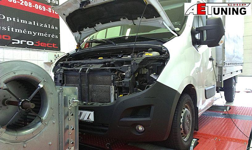 Opel Movano chiptuning fogyasztás csökkentés