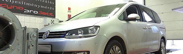 Volkswagen Sharan 2.0TDI 140LE DSG. Fékpadon OPTimalizálva