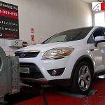 Ford Kuga 2.0TDCI 136LE Optimalizálás fékpadon