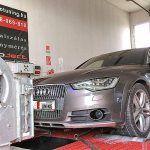 Audi A6 4G Allroad Quattro 3.0TDI 313LE Optimalizálás 4x4 DYNO padon