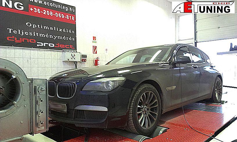 BMW F01 740D 306LE Optimalizálás