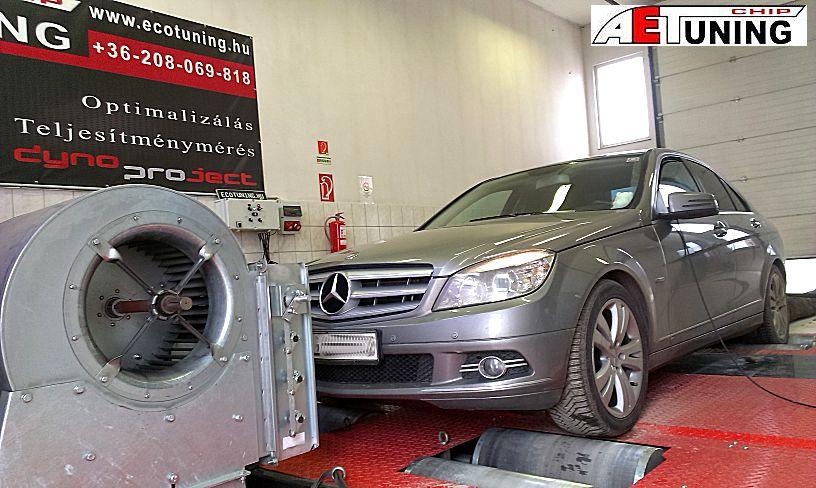 Mercedes C200 CDI 136LE Optimalizálás