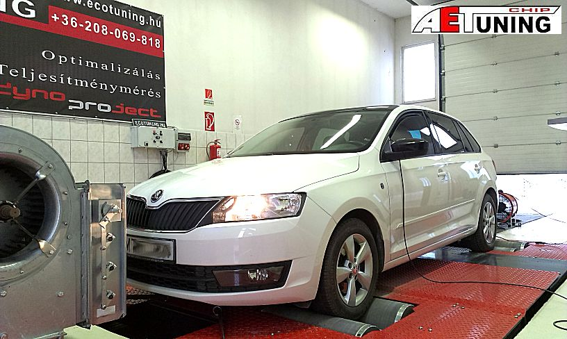 Skoda Rapid 1.2TSI 105LE Chiptuning Optimalizálás