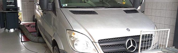 Mercedes Sprinter 318CDI 184LE Chiptuning