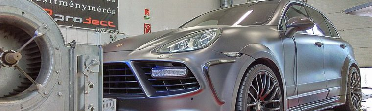 Porsche Cayenne 4.8 DFI V8 Turbo 500Hp Chiptuning