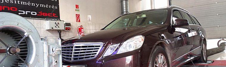 Mercedes E200 CDI 136LE Optimalizálás, ismét a várt eredmény.