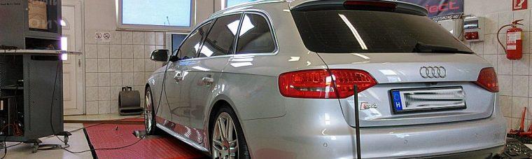 Audi S4 3.0TFSI 333HP Chip Tuning