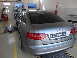 Audi-a6-optimalizalas-teljesitmenymeres-fogyasztascsokkentes