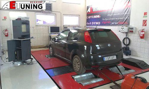 Fiat Grande Punto 1-9jtd Aet Chiptuning Tat Dyno