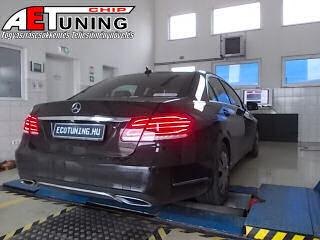 Mercedes-w212-chiptuning-teljestmenymeres