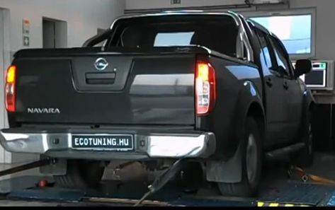 Nissan-navara-teljesitmenymeres-chiptuning