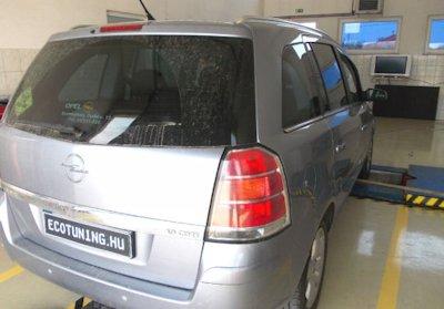 Opel-zafira-c-chiptuning-teljesitmenymeres