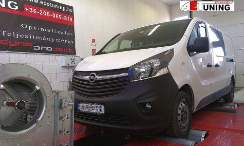Opel Vivaro Biturbo Dyno