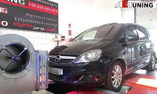 Opel Zafira Chip Tuning Project