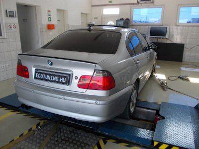 BMW E46 320D Teljesítmény mérése