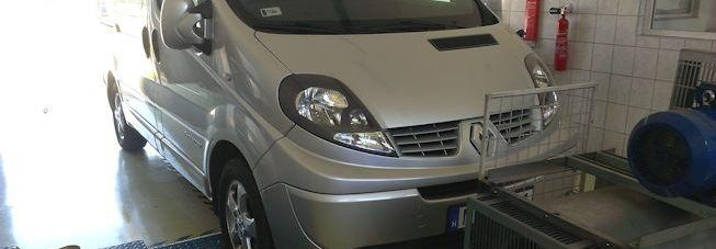 Renault Trafic 2.0DCI 115LE Chiptuning
