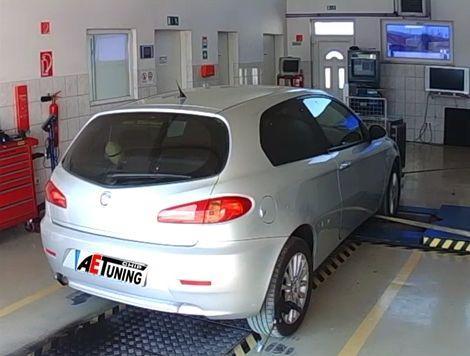 Alfa Romeo 147 1.9JTD 120LE AET Chiptuning DYNO OPTimalizálás