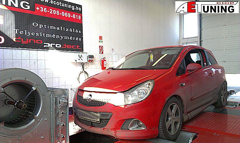 Opel Corsa OPC AET Chip tuning tát