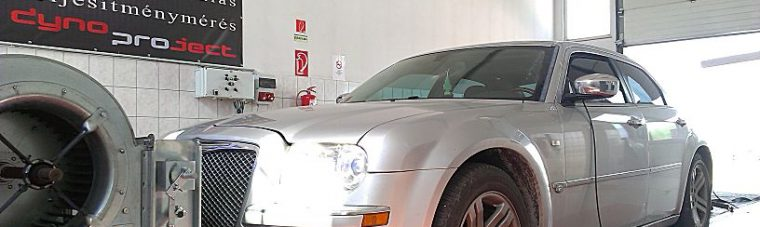 Chrysler 300C 3.0CRD 218LE Optimalizálás fékpadon.Ezt a fajta automataváltót nagyon nehéz lemérni dyno fékpadon.Megszenvedtünk vele, de azért valahogy sikerült.