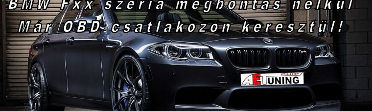 BMW_Fxx_szeria_Chiptuning_obd_csatlakozon_keresztul