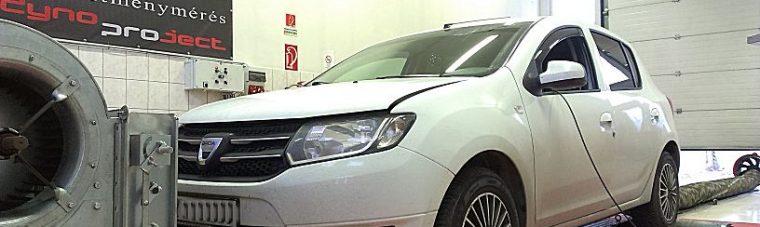 """Dacia Sandero 1.5DCI Optimalizálás - Meglepő és mulatságos """"ECO"""" gomb"""