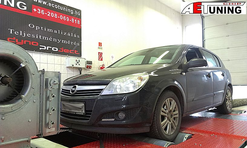 Opel Astra 1.7CDTI 110LE Chiptuning Optimalizálás