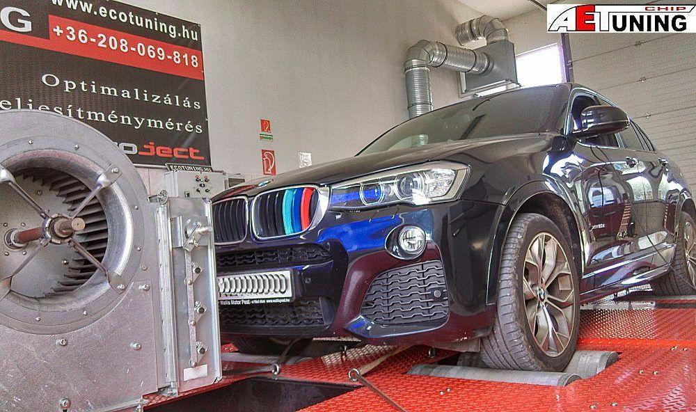 BMW X4 xDrive 190LE Optimalizálás Magyarország egyetlen szinkronizálható fékpadján!