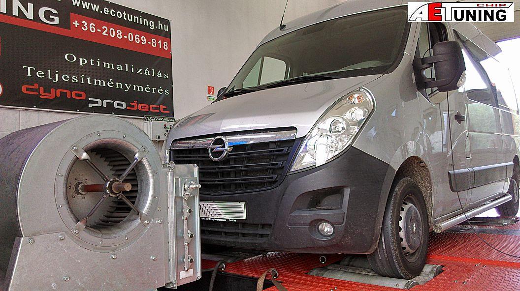 Opel Movano 2.3DCI 100Le kicsit gyenge...